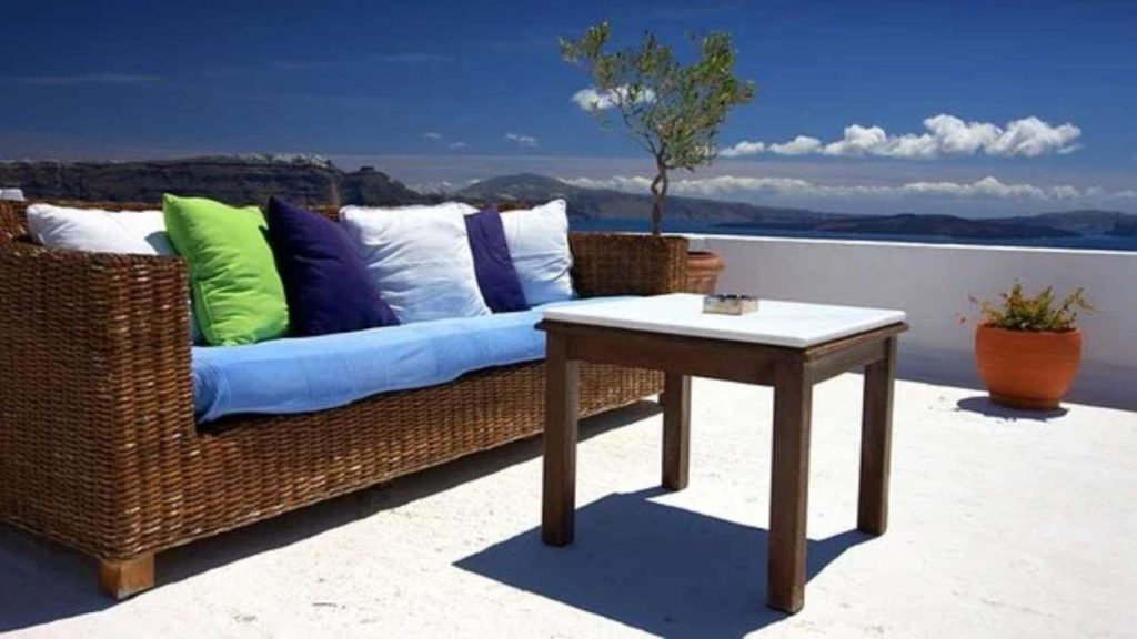 how to decorate terrace